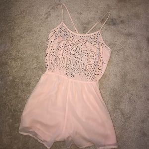Hollister Other - Pink Hollister Romper